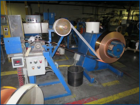 13-1/4 THERMAL BASICS COPPER AND BRASS STRIP ANNEALING LINE