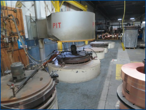 SM ENGINEERING PIT TYPE BELL ANNEALING FURNACES