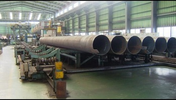 2032mm X 25.4mm LSAW API PIPE PLANT