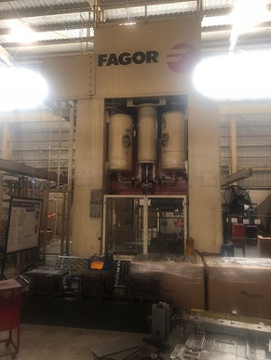 400 TON FAGOR STRAIGHT SIDE DOUBLE CRANK PRESS