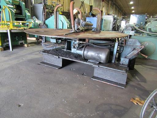 6,000 Lbs ACROMETAL HYDRAULIC PAYOFF REEL