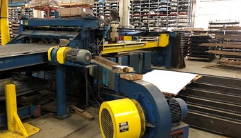 60 x .188 Herr Voss Drop Stacker with Blower and Side Discharge