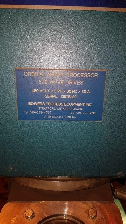 BOWERS 5/2 OSP ORBITAL SHAFT PROCESSOR
