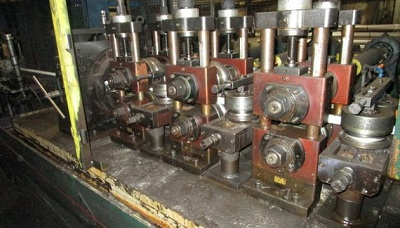 2 x .135 ADDISON TUBE MILL W/ ALPHA DOUBLE CUT CUTOFF