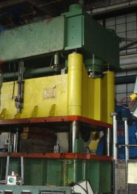 700 ton USI CLEARING HYDRAULIC PRESS