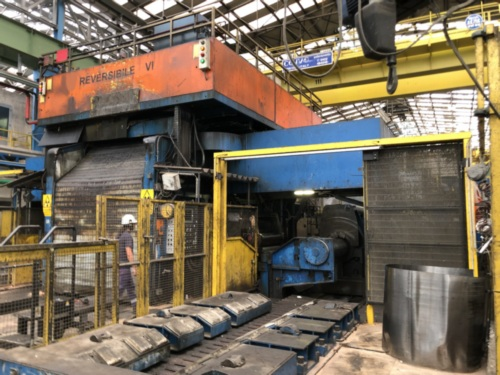 SMS DEMAG 6HI REVERSING COLD ROLLING MILL