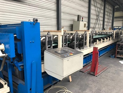 1250MM 20 STAND OLMA PANEL ROLL FORMING LINE W/ STACKER