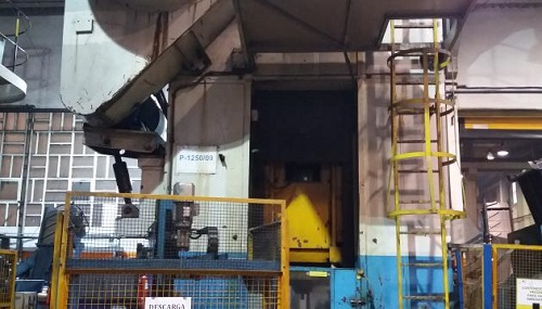 1250 TON ARISA FORGING PRESS