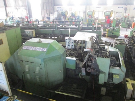 Nedschroef Model MW53 Hot Forming Production Line, Built new in 1995