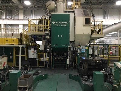 2000 Ton SUMITOMO FORGING PRESS