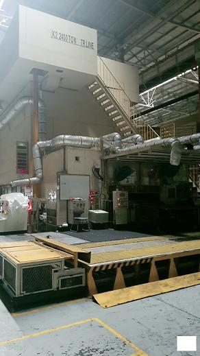 2400 TON HITACHI ZOSEN TRANSFER PRESS