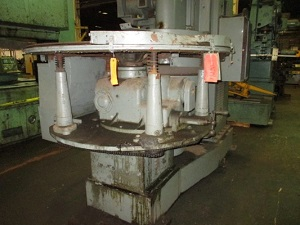 BESLY #929 DOUBLE VERTICAL SPINDLE DISC SPRING GRINDER