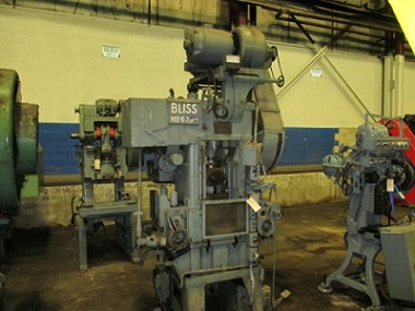 30 Ton BLISS #630 SINGLE CRANK HIGH PRODUCTION PRESS