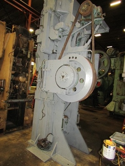 120/80 TON BLISS #3-1/2C STRAIGHT SIDE SINGLE CRANK TOGGLE PRESS