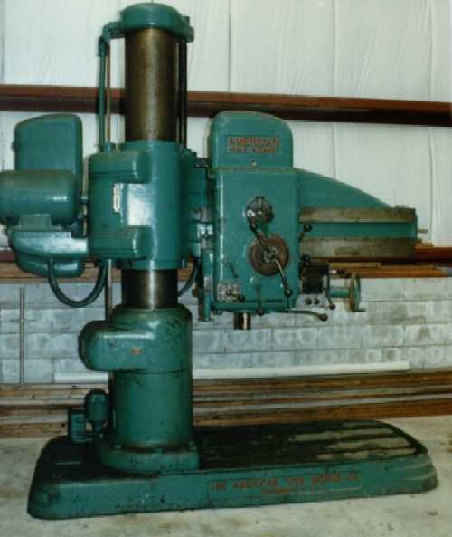 AMERICAN 4' x 13 RADIAL DRILL
