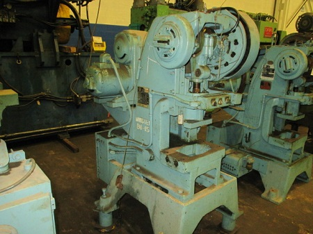 15 TON MINSTER #B1-15 HIGH SPEED PRESS