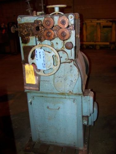 TORRINGTON #W-21 WIRE SPRING COILING MACHINE