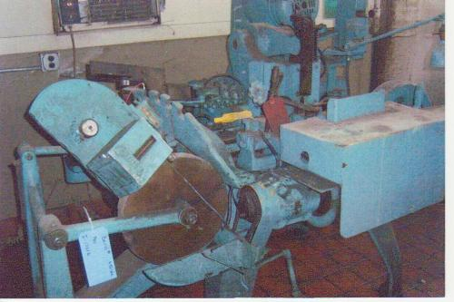 BAIRD MODEL #4 CHAIN ROLLER AND BUSHING MACHINE