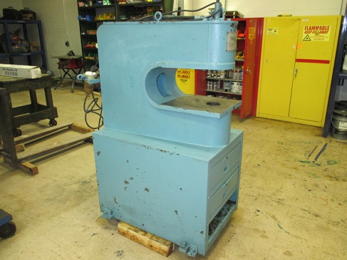 15 TON, UNIPRESS MODEL #1020 GAP FRAME HYDRAULIC PUNCH